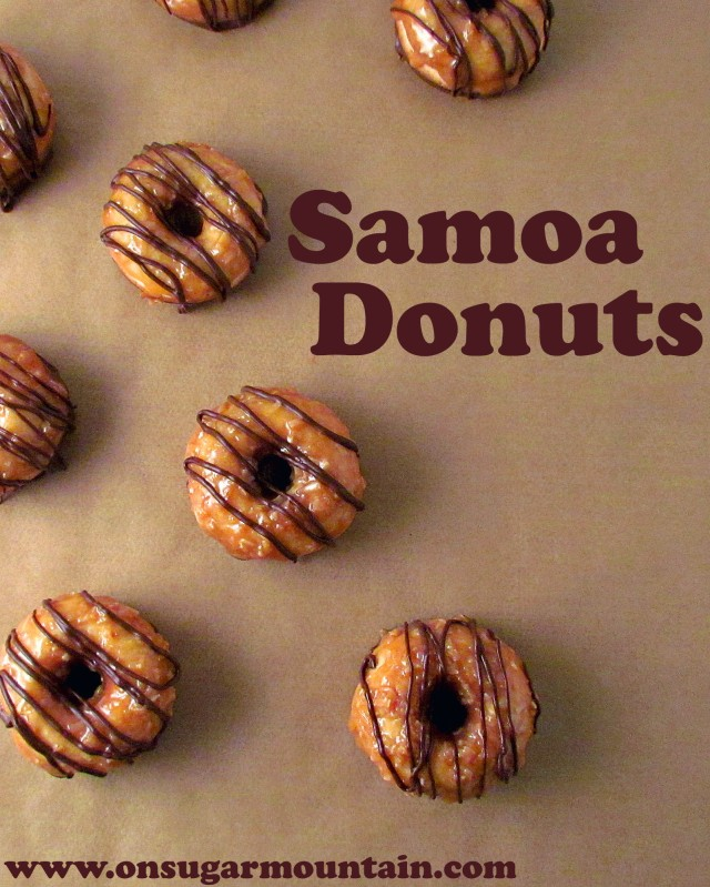 Samoa Donuts - On Sugar Mountain